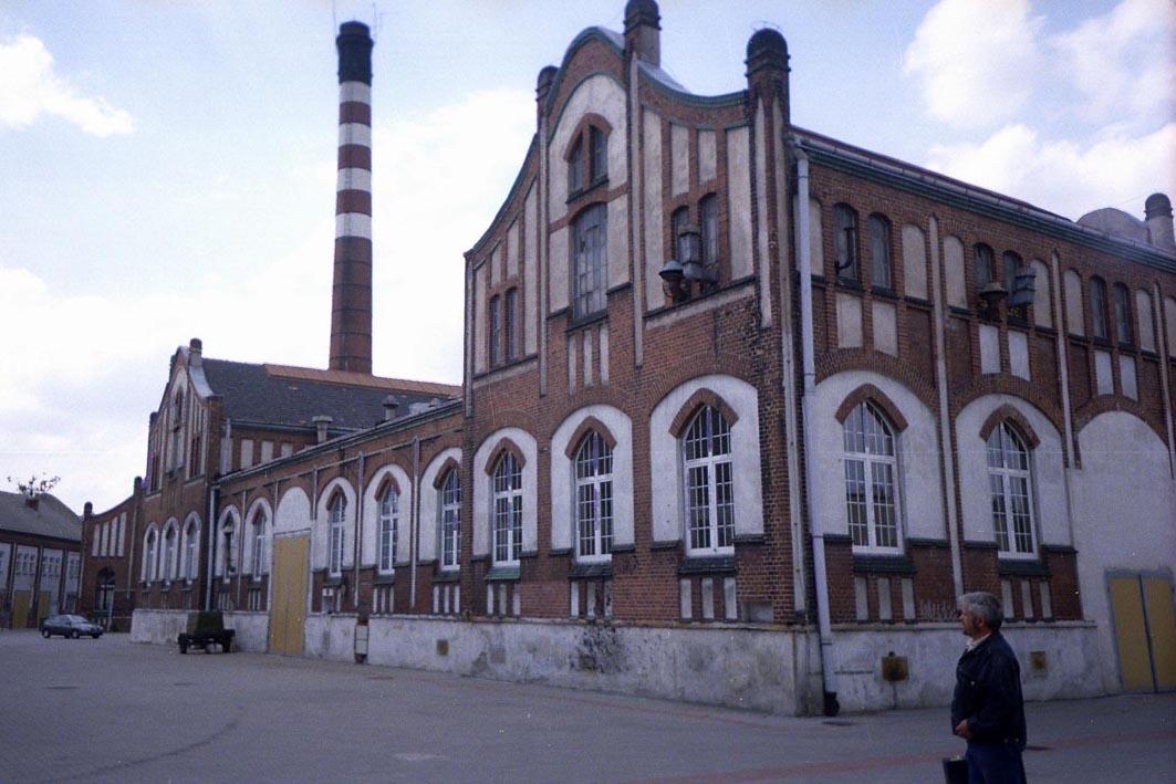 Архитектура газового завода в г. Згожелец