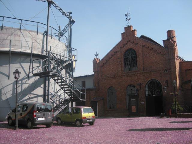 Музей газовой промышленности в старом газовом заводе г. Пачкова