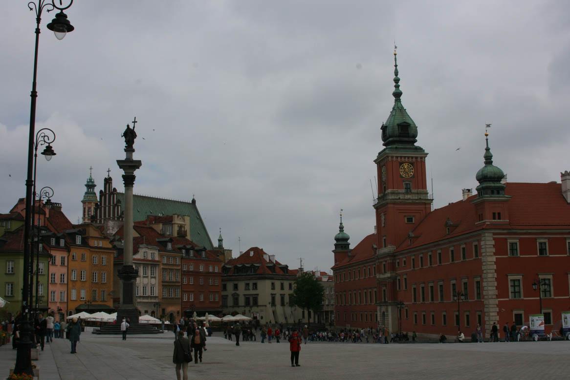 Современный вид Замковой площади