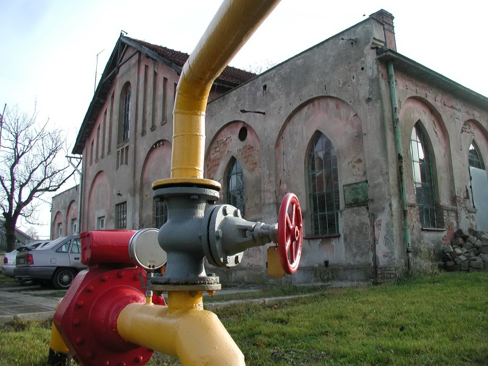 Газовый завод в Пилаве – теперь газораспределительная станция