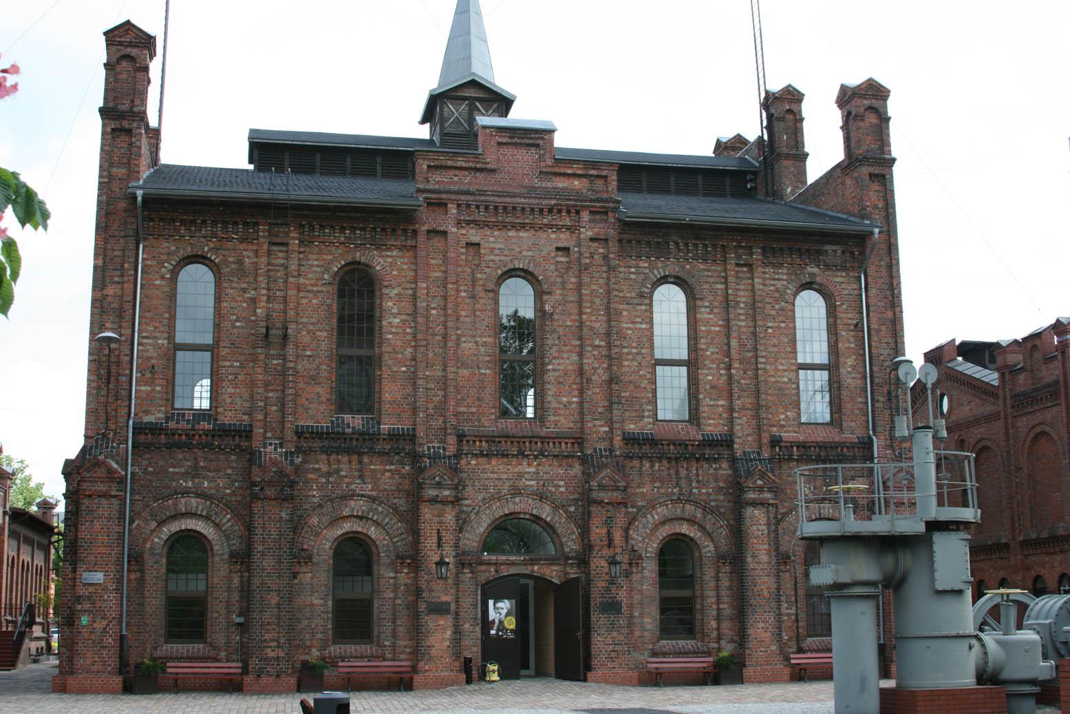Здание музея газоснабжения Варшавы