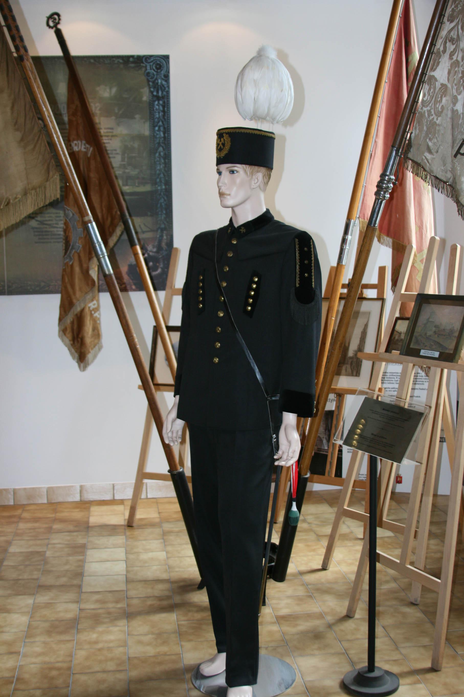 Фрагмент экспозиции музея газоснабжения Варшавы