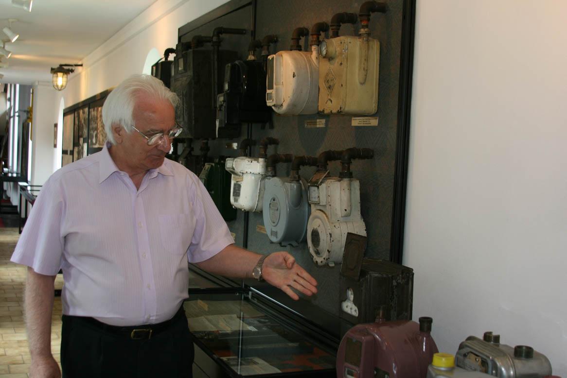 Директор музея газоснабжения Варшавы Зигмунт Маршалек