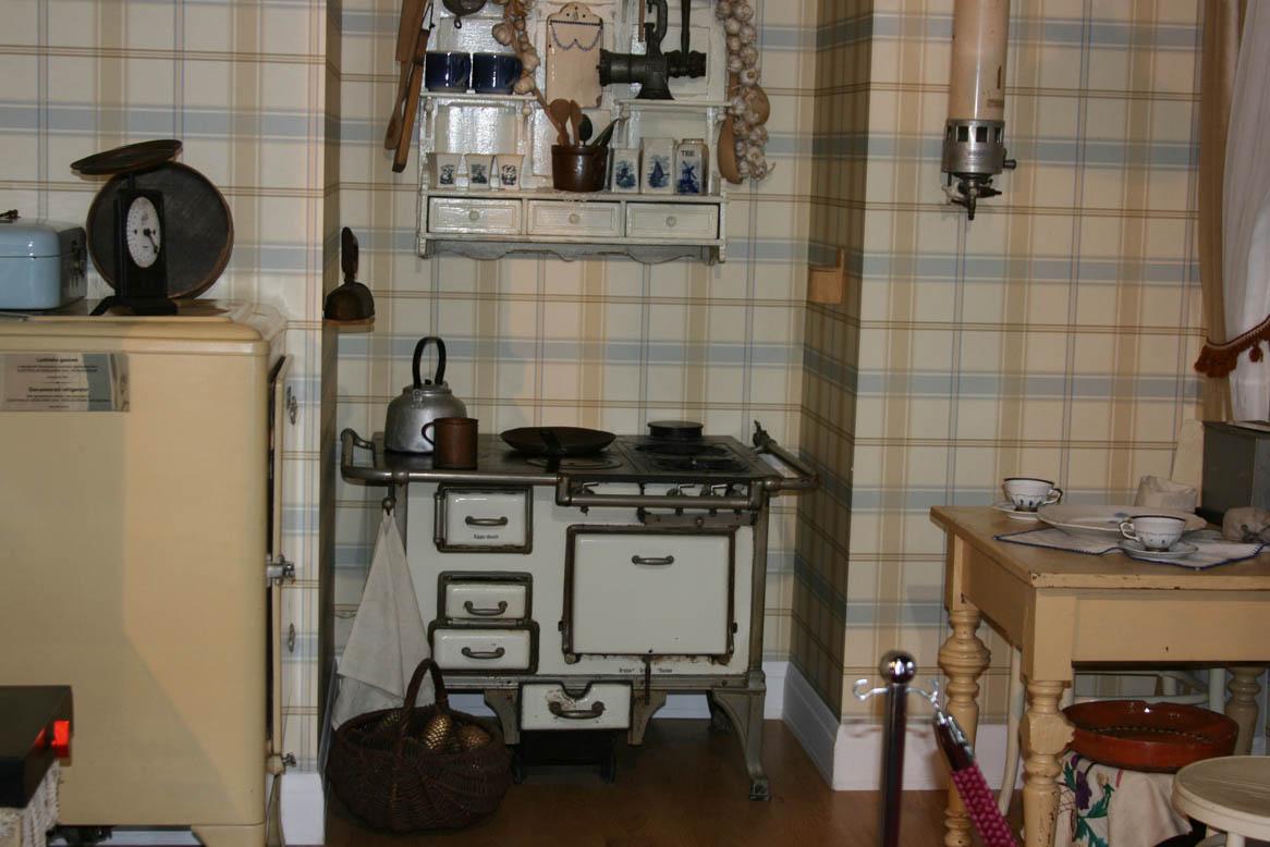 Интерьер кухни начала ХХ века. Музей газоснабжения Варшавы